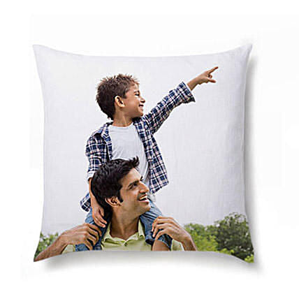 Personalised Picture Cushion For Dad: Fathers Day Personalised Gifts