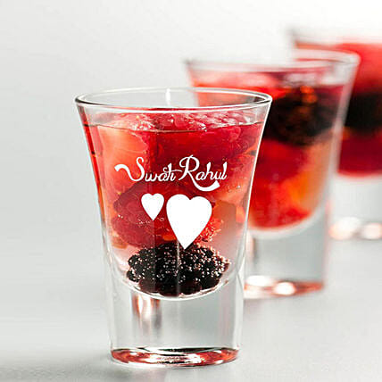 Personalised Set Of 2 Shot Glasses 1030: