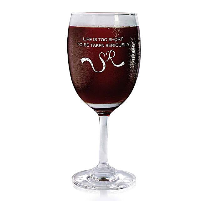 Personalised Set Of 2 Wine Glasses 2169: