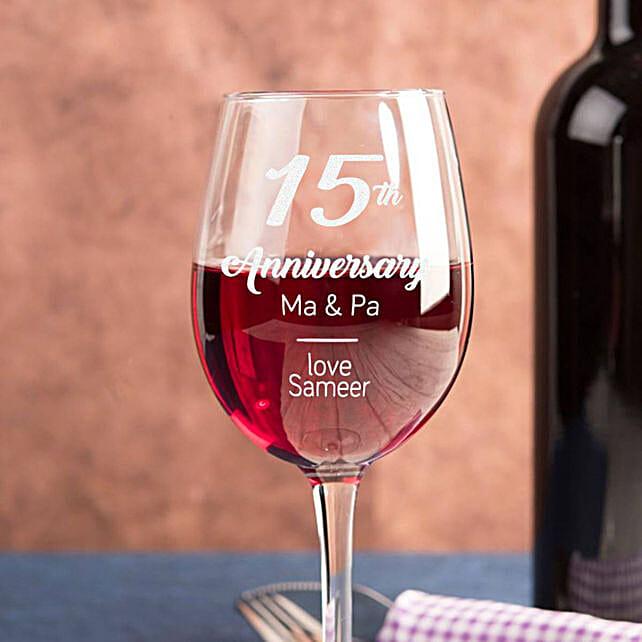 Personalised Set Of 2 Wine Glasses 2902: