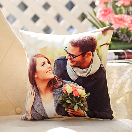 Personalised Romantic Cushion: Buy Cushions