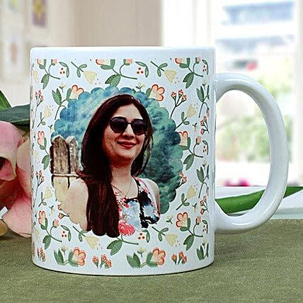 Personalised Woman Power Photo Mug: Birthday Mugs