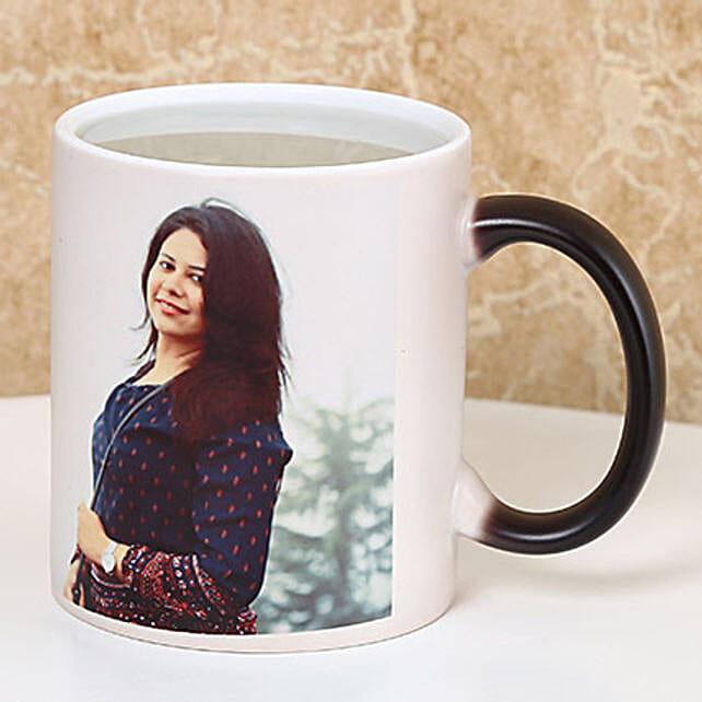 Personalized Color Changing Mug: Custom Photo Coffee Mugs