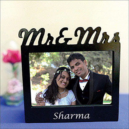 Personalized Couple Photo Lamp: Photo Frames