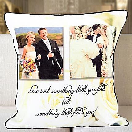 Personalized Years Of Togetherness Cushion: Valentines Day Cushions