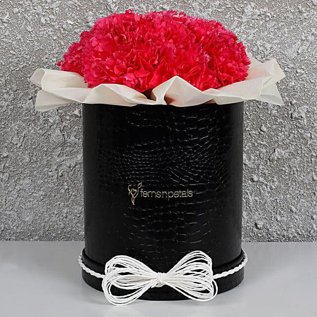 Pretty Pink Carnations Box: Carnations