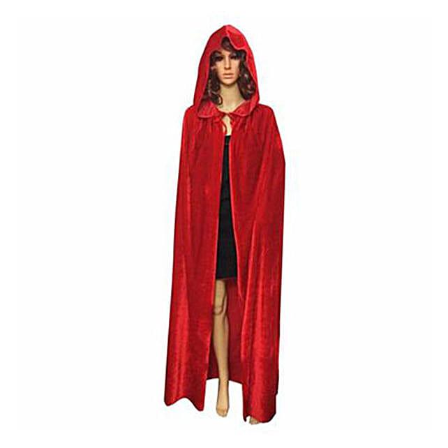 Red Gothic Cloak: