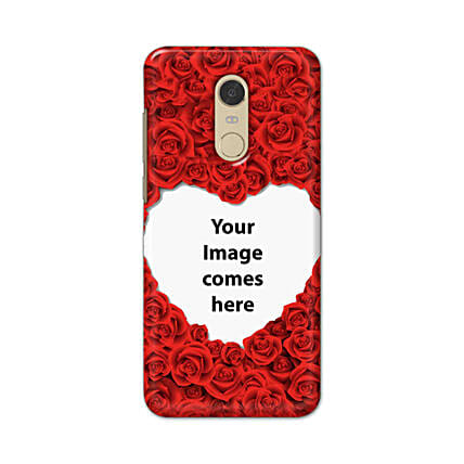 Redmi Note 5 Customised Hearty Mobile Case: