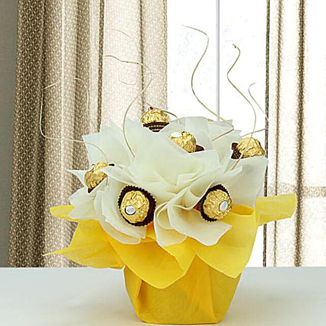 Rocher Surprise: Chocolate Bouquet