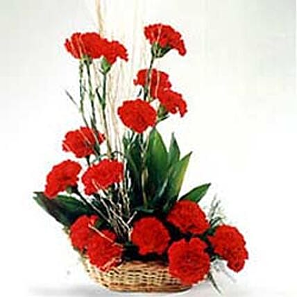 Romantic Affair: Basket Arrangements