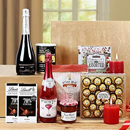 Sensational Treat Gift Basket: Send House Warming Gift Hampers