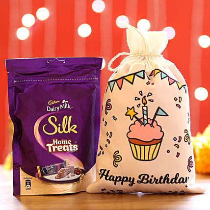 Silk Home Treats & Birthday Gunny Bags: Cadbury Chocolates