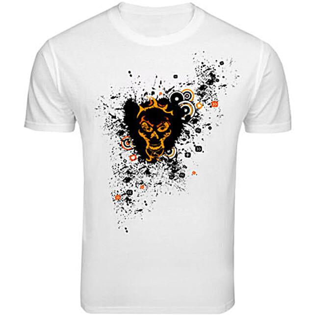 Skull Love T shirt: T Shirts