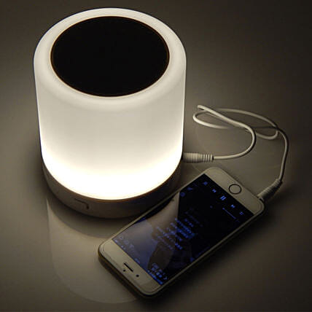 Smart Light Wireless Bluetooth Speaker: Unusual Gifts