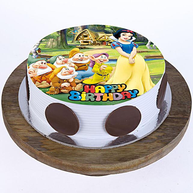 Snow White Cake Cartoon Cakes