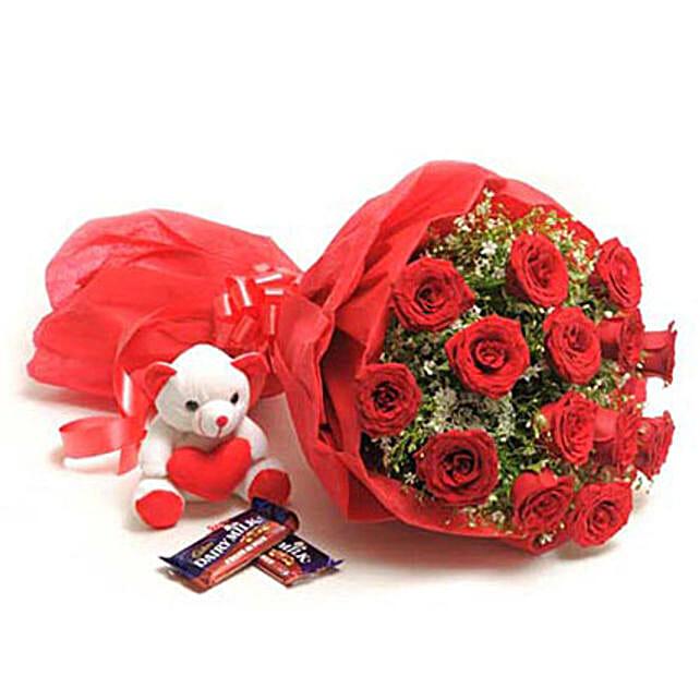 Soft N Nutty: Send Roses And Teddies