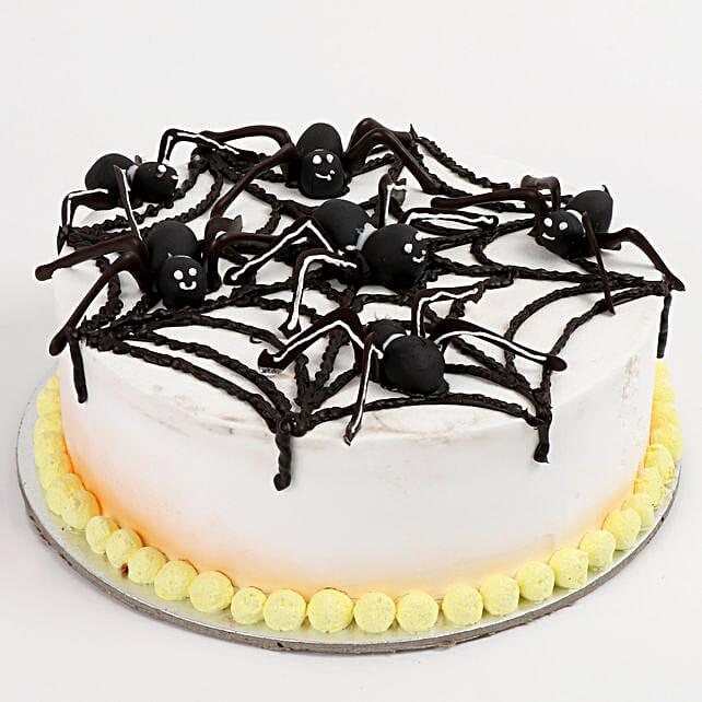 Spooky Spider Cake: