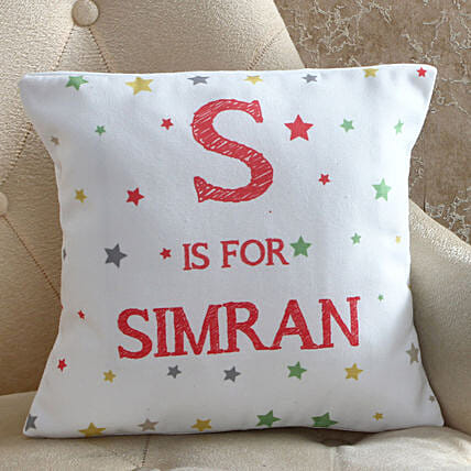 Starry Personalised Cushion: Buy Cushions