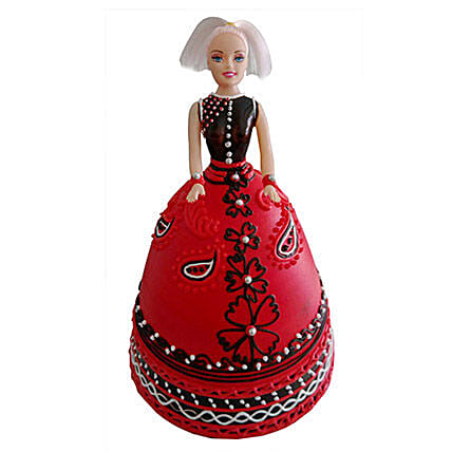 Strawberry Baby Doll Cake: