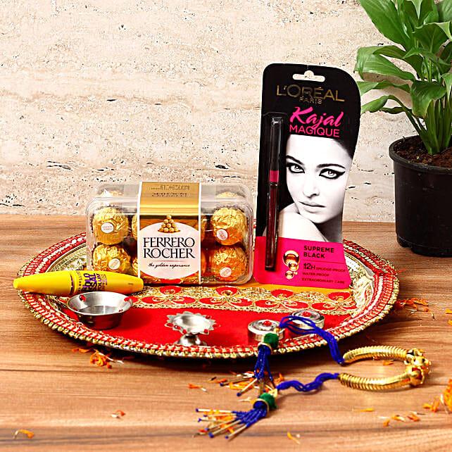 Stylish Karwa Chauth Gift Hamper: Karwa Chauth Cosmetics Hampers