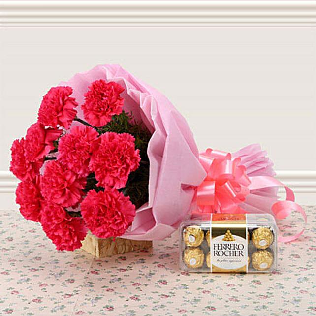 Supernova Pink: Carnations