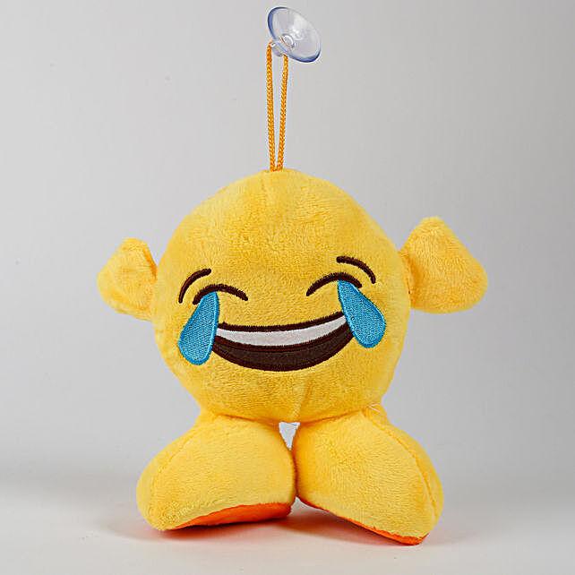 Tears Of Joy Emoji Soft Toy Hanging: Soft toys for birthday