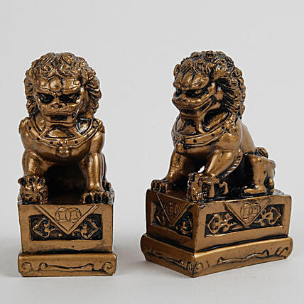 The Fu Dogs Feng Shui Statue: Home Decor Gifts Ideas