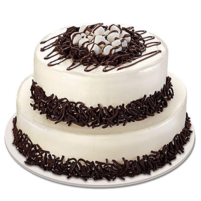 Twosome Cream Cake: Multi Tier Cakes