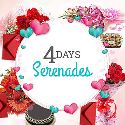 4 Days Valentine day is not enough: Serenades