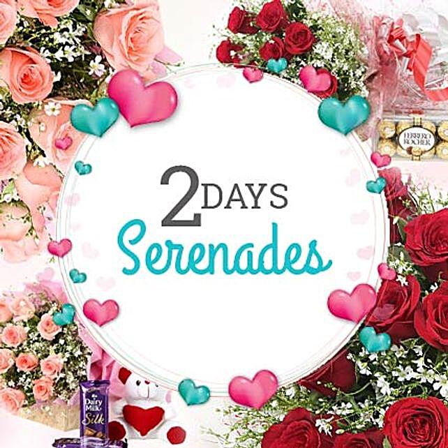 A heartful of love: Serenades
