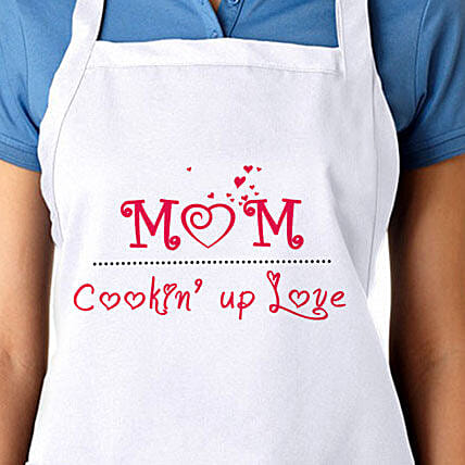 Apron For Sweetest Mom: Apparel Gifts