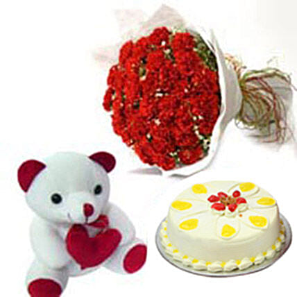 Carnation of Paradise: Cakes N Teddy Bears