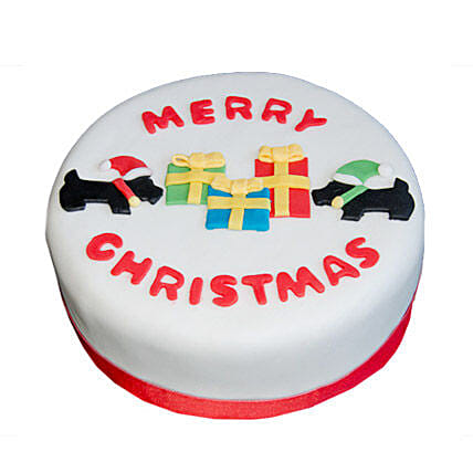 Christmas Celebrations Cake: Gift Delivery in Amroha