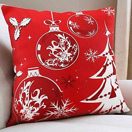 Christmas Cushion: Send Gifts to Kheda