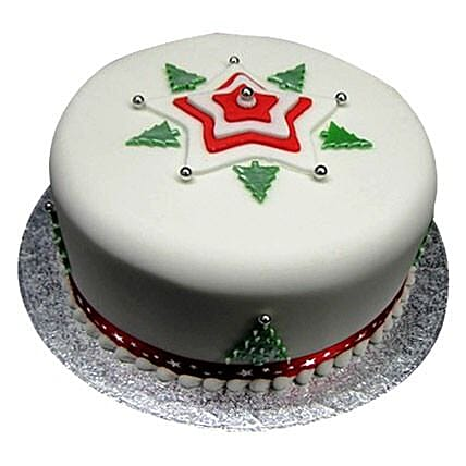Christmas Tree Cake: Gift Delivery in Amroha