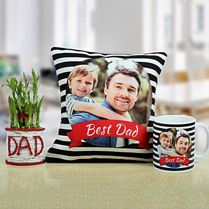 Combo For The Best Dad: Fathers Day Gift Hampers