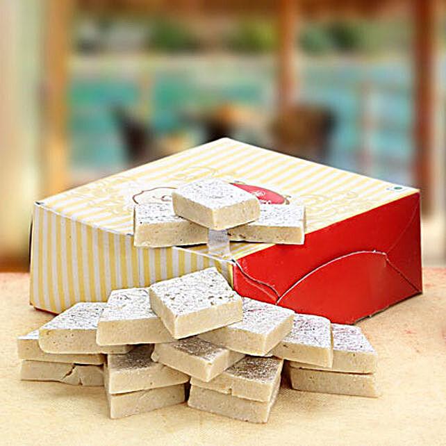 Festive Kaju Katli Box 250 gms: Sweets to Kanpur