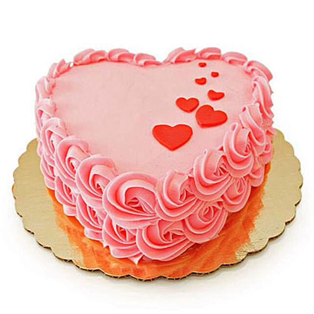 Floating Hearts Cake: Rose Cakes