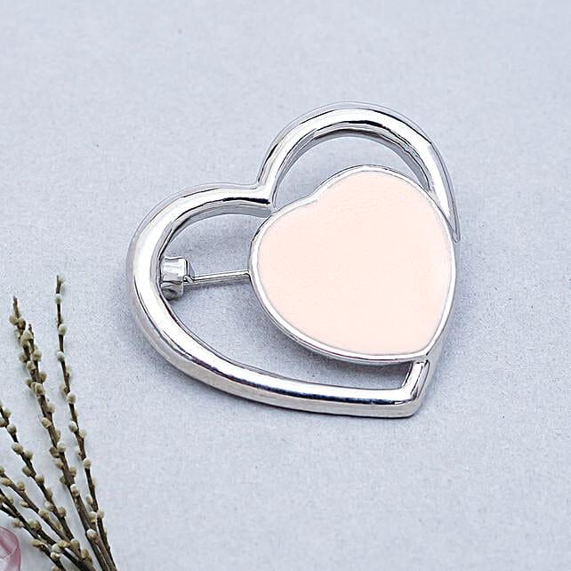 Heart Brooch: Accessories