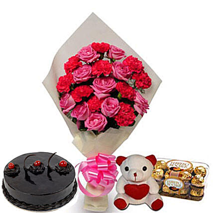 Love Treasure: Send Cake with Teddy