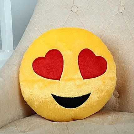 Lovely Hearts Yellow Cushion: Valentines Day Soft toys
