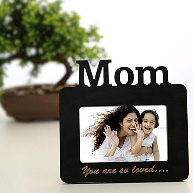 Lovely Mom Personalized Frame: Send Personalised Photo Frames to Kolkata