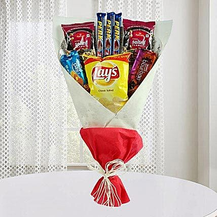 Mix Flavours Bouquet: Gifts Delivery In Sanjay Nagar