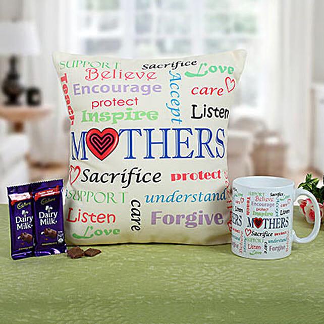 Mom Special Cushion N Coffee: