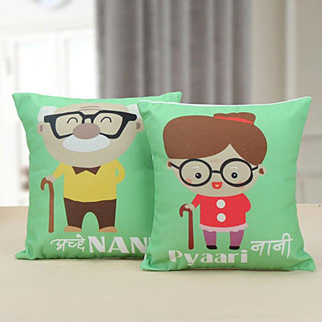 Nanu Nani Cushion: Gifts for Grandparents