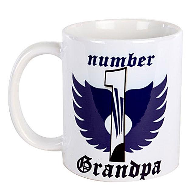 Number 1 Grandpa Mug: Grandparents Day Mugs
