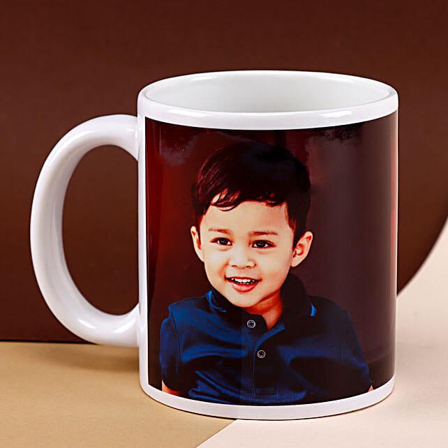 Personalised Jolly Moment Mug: Custom Photo Coffee Mugs