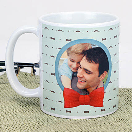 Personalized Bring A Smile Mug: Personalised Mugs for Fathers Day