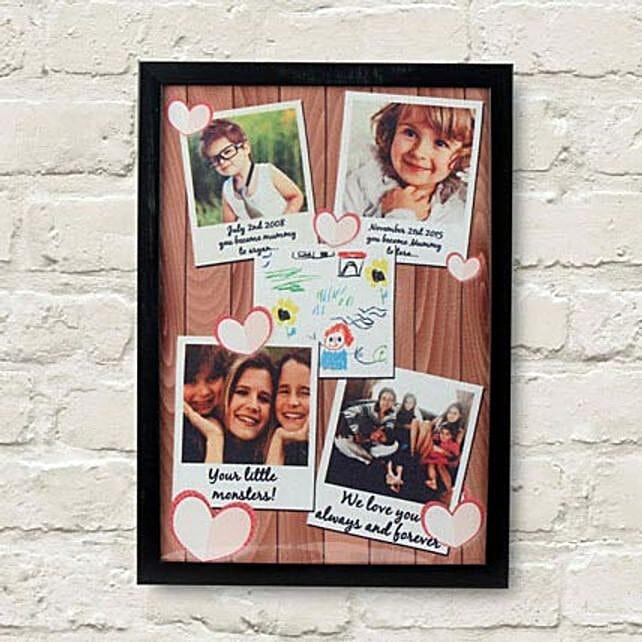 Personalized Cherishing Love Frame: Send Photo Frames
