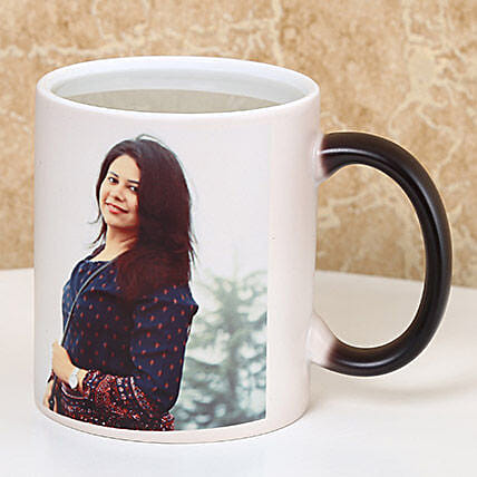 Personalized Color Changing Mug: Custom Photo Coffee Mugs